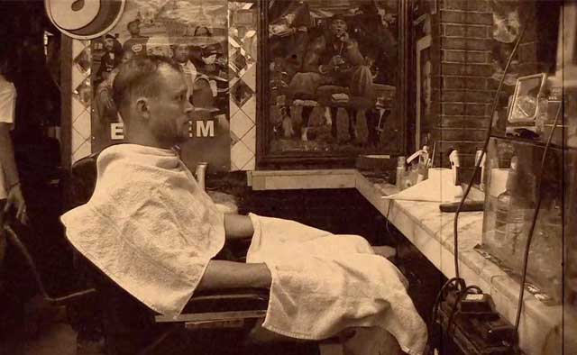 An Egyptian straight-razor shave (in 21 easy steps)